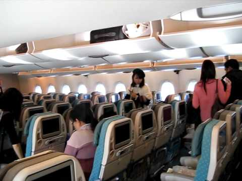 Boarding Singapore Airlines Airbus A380 Seat Tour Youtube