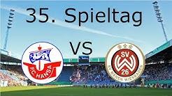 FC. Hansa Rostock - SV Wehen Wiesbaden | Spieltag 35 | Ganzes Spiel | Rostocker Fankurve