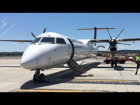 QantasLink Bombardier Dash 8 Q400 Flight Report - Sydney To Canberra