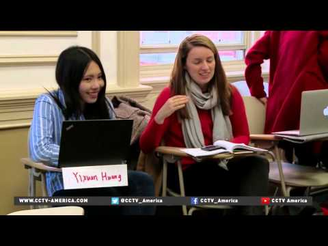 U S  colleges working to integrate growing number of Chinese students