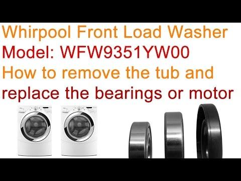 How To Replace Washing Machine Bearings Doovi