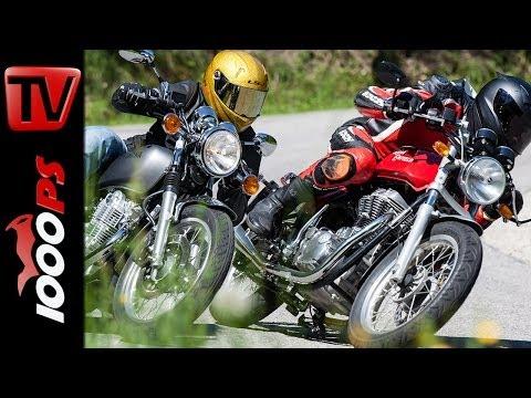 Royal Enfield Continental GT vs Yamaha SR 400 | Vergleichstest