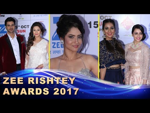 Zee Rishtey Awards 2017 Full Red Carpet Show | Ankita Lokhande, Divyanka Tripathi