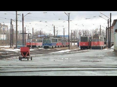Трамвайное депо Бийска может уйти «с молотка» (Будни, 29.11.18г., Бийское телевидение)