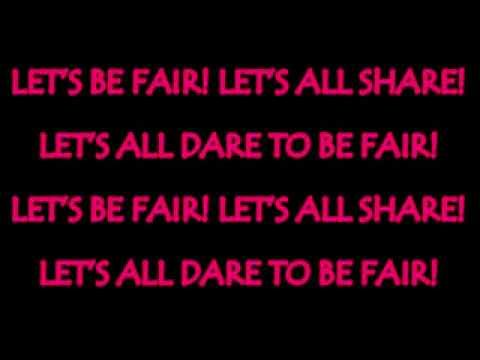 let's be fair karaoke