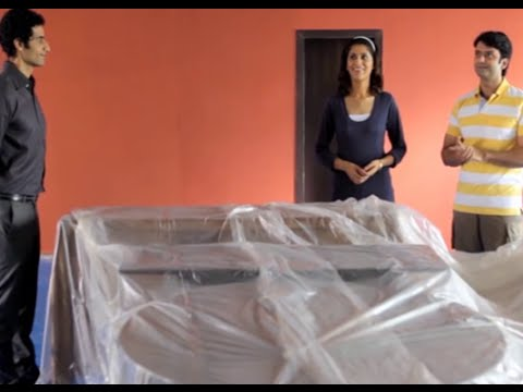 how to paint interior walls of your home by asian paints youtube
