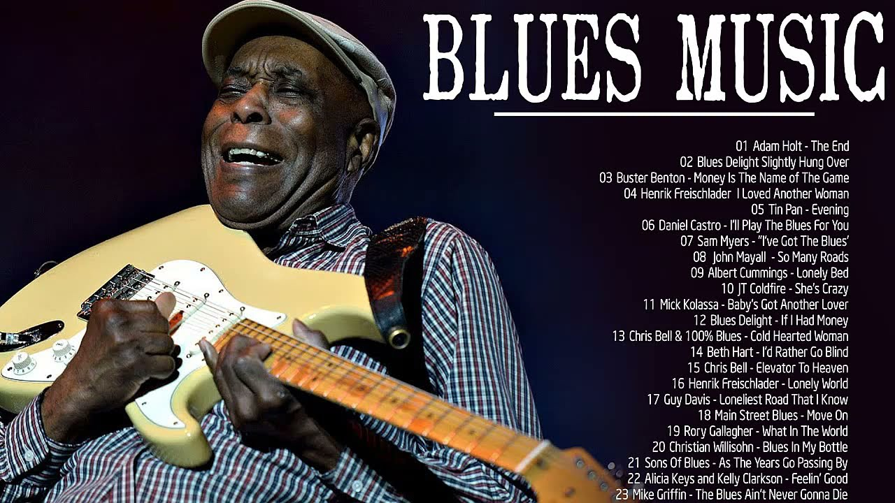 Download Relaxing Blues Music   Best Slow Blues Music  2021    Top Jazz Blues Music