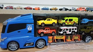 City Vechicles and Baby Boy - Toy Cars and Trucks set | Video for Kids Children