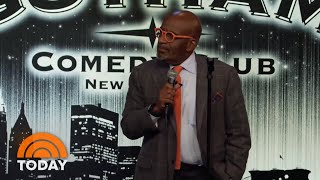 Watch Al Roker Try Stand-up In Job Swap With Jim Gaffigan  Today