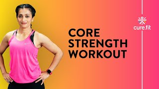 Core Strength Workout At Home by Cult Fit | Core Body Workout | No Equipment | Cult Fit | Cure Fit screenshot 5