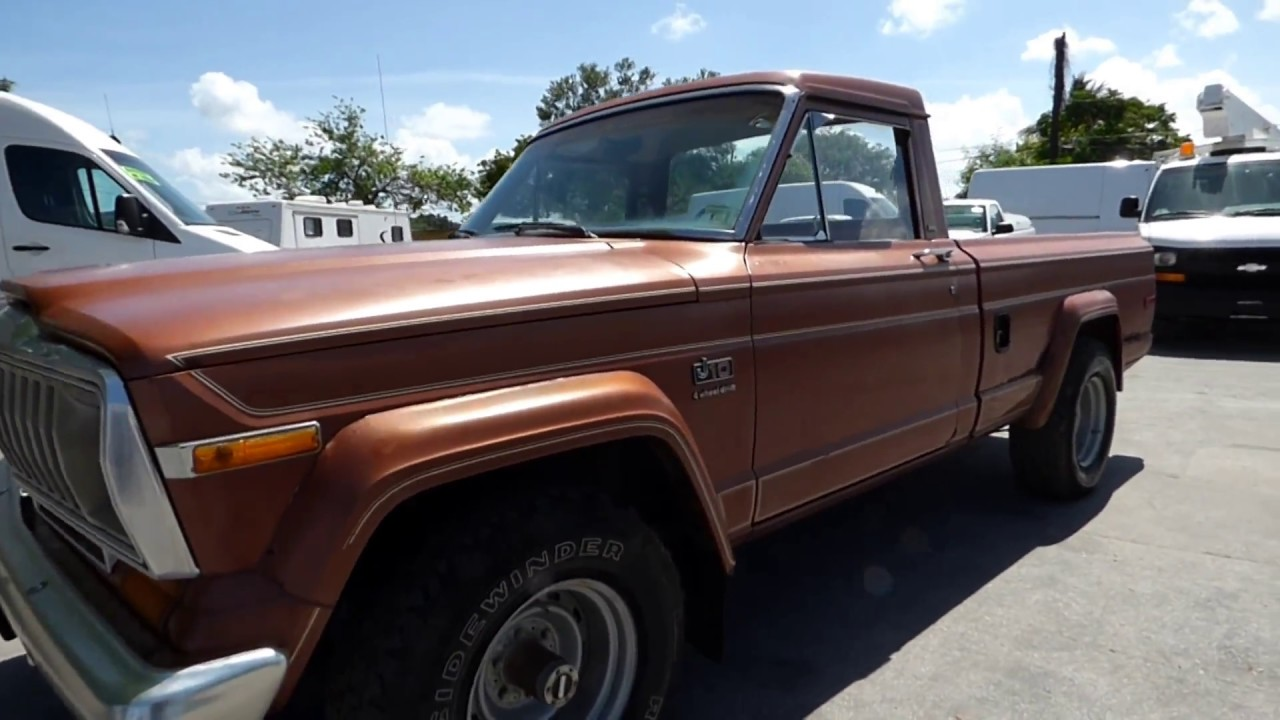 hight resolution of 1981 jeep j10 pickup truck 4x4 4 2l inline 6