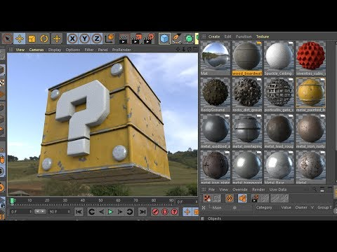 PBR Material Pack 3 - Cinema 4D R20 - R19