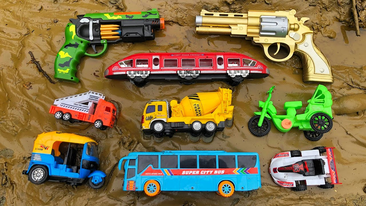 Video About Looking for Various Toy Vehicles and Pistol | New Toy Video | PlayToyTime TV