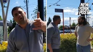 Man goes on racist rant in Seattle, claims 'White men built these streets!' | New York Post