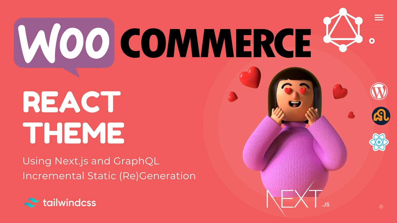 React WooCommerce Theme using Next.js and GraphQL | TailwindCSS | WPGraphQL | nextjs theme example