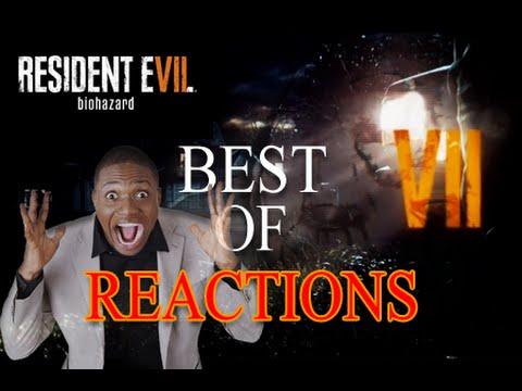 Resident Evil 7 Best Live Reactions Compilation - E3 2016 Reveal Demo