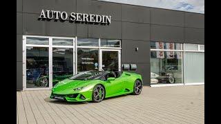 Lamborghini Hurracan Evo Spyder Green Auto Seredin Germany