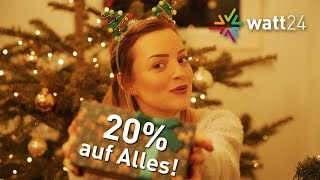 Unser Weihnachtsgeschenk: 20% auf ALLES: LED-Beleuchtung, Elektronik, Sensoren, LED-Tape  u.v.m.