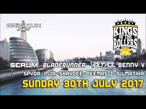 Benny V - Kings of the Rollers Warm Up Show - Origin UK 22.07.17