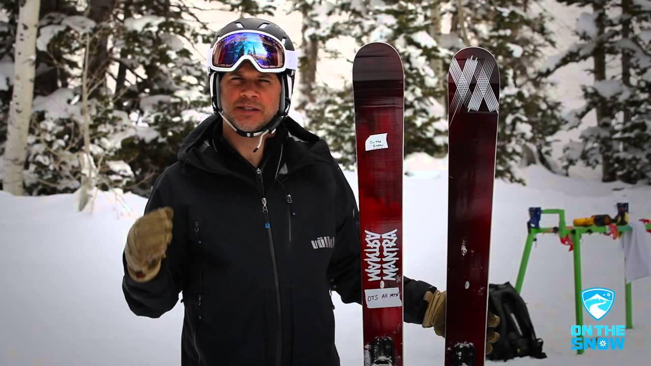 2014 Volkl Mantra Ski Overview