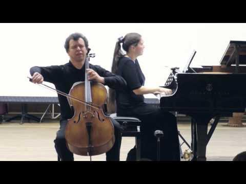 "S. Rachmaninov - ""Vocalise""  Sergei Slovachevsky cello  Tatiana Kolesova piano"