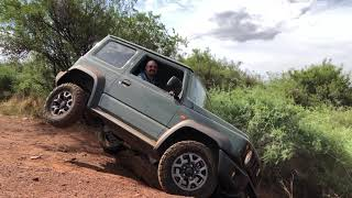 New Jimny @ Bass lake 4x4 trail