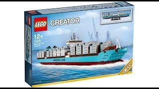 LEGO 10241 MAERSK LINE - Timelapse Build