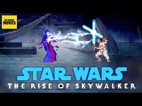 Rise Of Skywalker Final Battle - 16 Bit Scenes