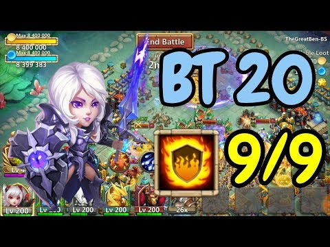 9/9 Flame Guard 20BT Rosaleen In Action L Castle Clash