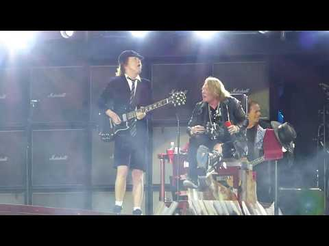 AC/DC ft Axl Rose – Rock or Bust / Shoot to Thrill – Werchter 16-May-2016