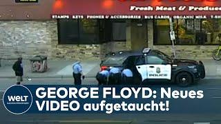 GEORGE FLOYD: Neues Überwachungsvideo aufgetaucht - Prozess gegen Polizist Derek Chauvin I WELT News