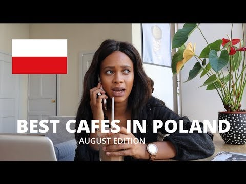 BEST CAFES IN WARSAW 🇵🇱| AUGUST EDITION