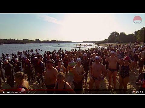 Usee-Schwimmen am Unterbacher See in Düsseldorf