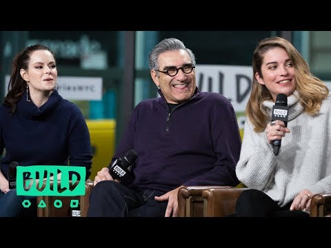 "Daniel Levy, Eugene Levy, Annie Murphy & Emily Hampshire Chat About Season 4 Of ""Schitt's Creek"""