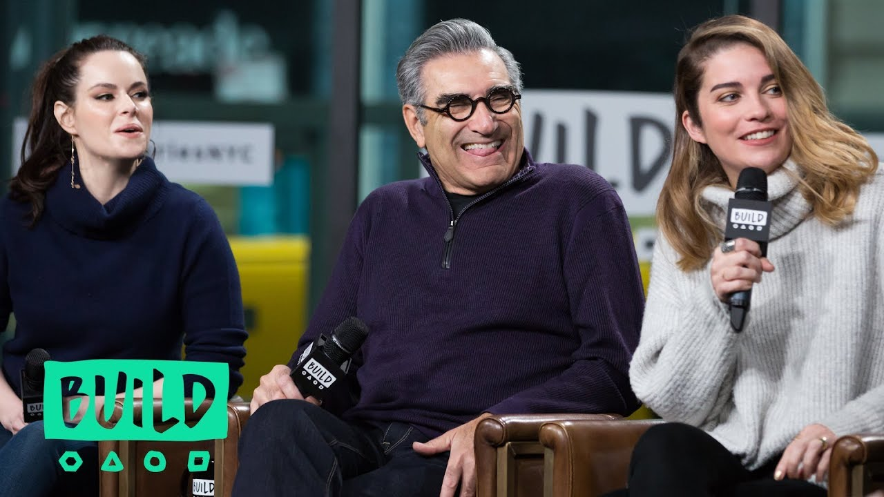 Daniel Levy, Eugene Levy, Annie Murphy & Emily Hampshire Chat About Season  4 Of