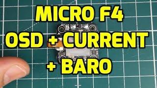 Omnibus F4 Corner Nano // Micro F4 Flight Controller Overview