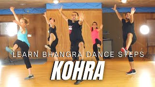 How to Do Bhangra - Kohra (Bhangra Style) | Learn Bhangra | Learn Bhangra App