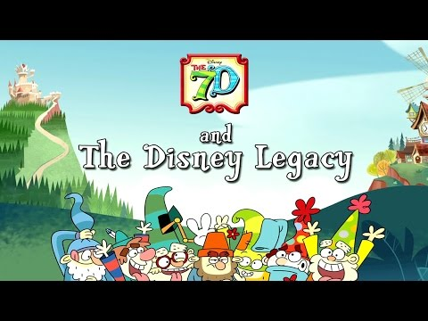 The 7D: Disney Legacy | Comic-Con 2016 | Disney XD