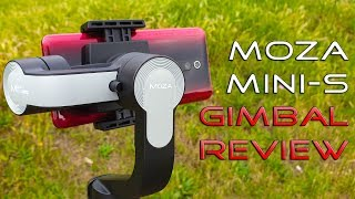 Moza Mini-S Foldable Gimbal Stabilizer Review