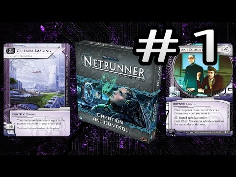 A Look Back at Netrunner Creation and Control - Corporation (Haas Bioroid)
