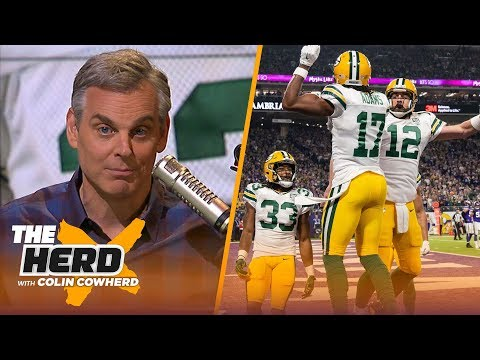 Colin Cowherd on why Aaron Rodgers should not be in the GOAT QB discussion | NFL | THE HERD