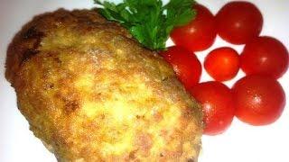 Зразы по-польски, фаршированные грибами и яйцом  Пошаговый рецепт