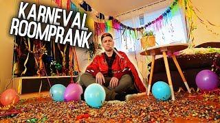 Karneval ROOM PRANK! 🎉   Max und Chris