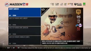 Madden 18 Ultimate Team Madden Harvest Information How to get a FREE Michael Irvin 93 Overall