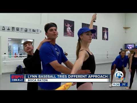 Lynn Baseball team lends helping hand to Boca Ballet Theatre