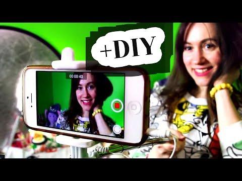 Как снимать видео для ютуба на телефон
