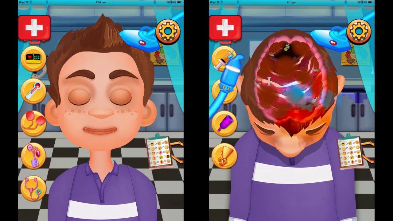 Brain Doctor   doctor games  brain surgery games for kids by     Brain Doctor   doctor games  brain surgery games for kids by Gameimax