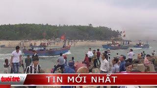 Tưng bừng lễ ra quân nghề cá đầu năm tại Quảng Ngãi