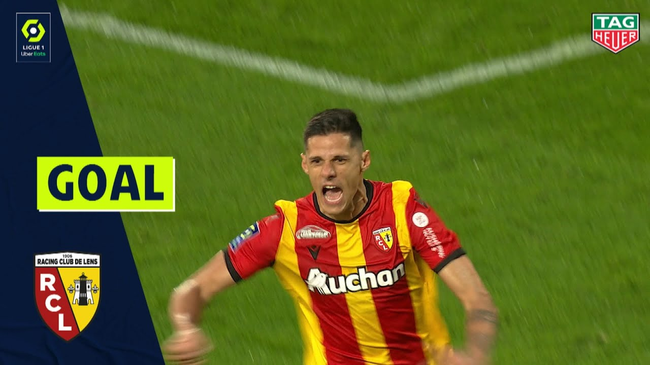 Goal Florian Sotoca 90 1 Rc Lens Rc Lens Stade De Reims 4 4 20 21 Youtube