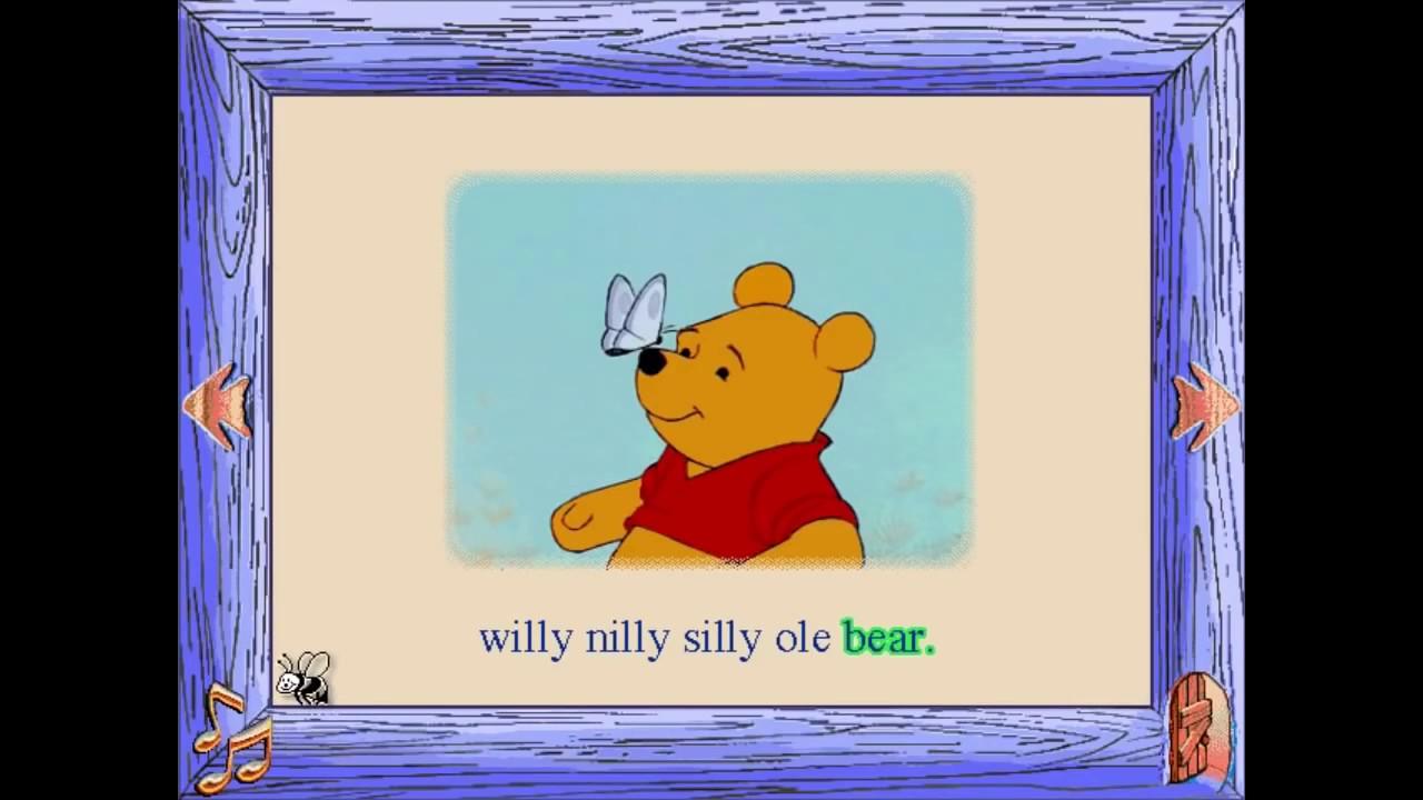 medium resolution of disney s animated storybook winnie the pooh and the honey tree cd rom longplay 31